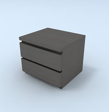 archibit generation s r l 3d models bed malm. Black Bedroom Furniture Sets. Home Design Ideas
