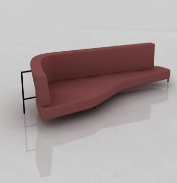 archibit generation s r l 3d models sofa shark edra